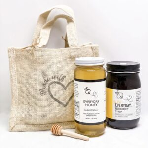 Burlap bags for Everyday Honey